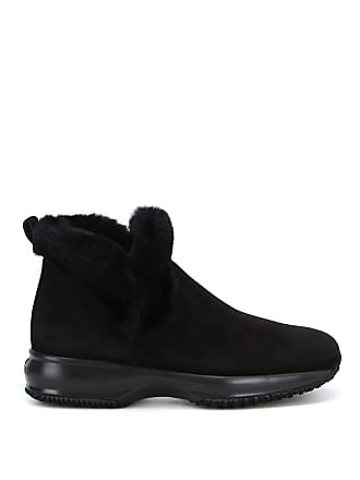 6ff2191a11a Hogan Womens Interactive Ankle Boots Nero Donna 36