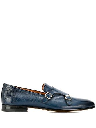 Santoni monk shoes - Blue