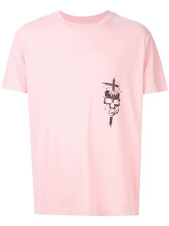 Rta Camiseta com estampa de caveira - Rosa