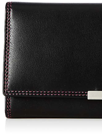 Visconti LADIES LARGE LEATHER ORGANISER FLAP PURSE WALLET R-11, FREE P&P