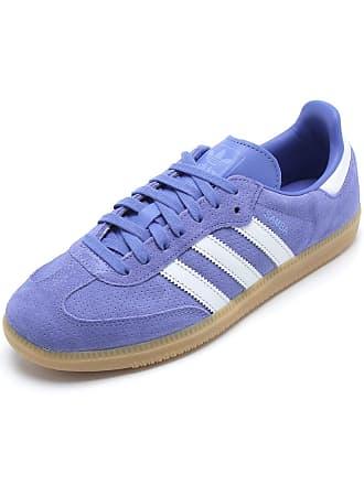 adidas Originals Tênis Couro adidas Originals Samba Og W Azul