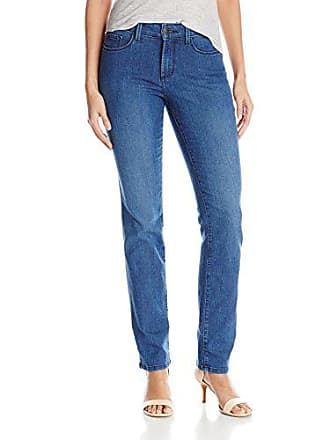 NYDJ Womens Sheri Slim Jeans, Yucca, 2