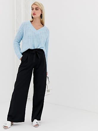 Vero Moda high tie waist pants - Black