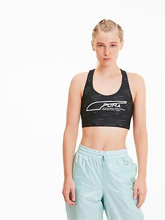 Puma Evide Sleeveless Womens Crop Top, Black/AOP, size X Large, Clothing