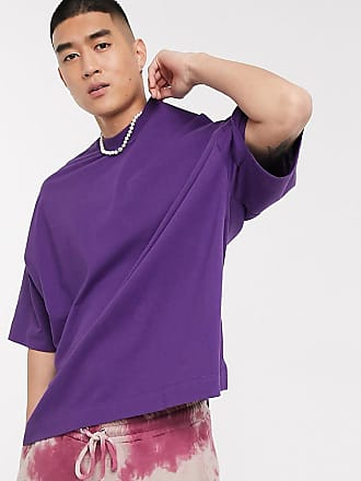 Collusion Oversize-T-Shirt in Violett
