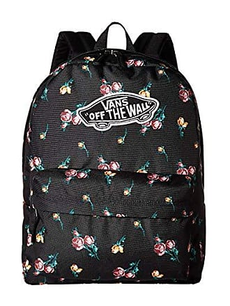 3feeed5602 Vans Realm Backpack (Black Paradise Floral) Backpack Bags