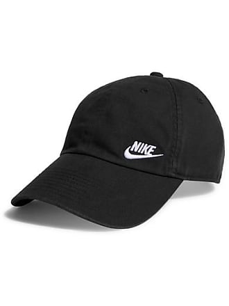 0696690ea3e Nike Heritage 86 Embroidered Cotton-canvas Baseball Cap - Black