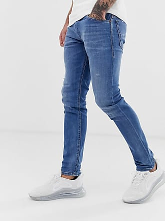 d993e9feb4 Diesel Thommer stretch slim fit jeans in 083AX light wash - Blue