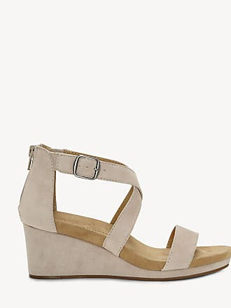 Lucky Brand Womens Kenadee Criss Cross Wedges Tipsy Taupe Size 6 Suede From Sole Society