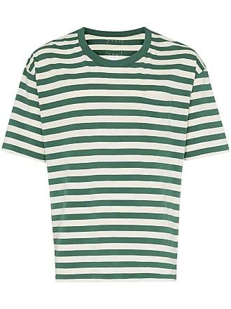 Visvim Jumbo striped T-shirt - Verde
