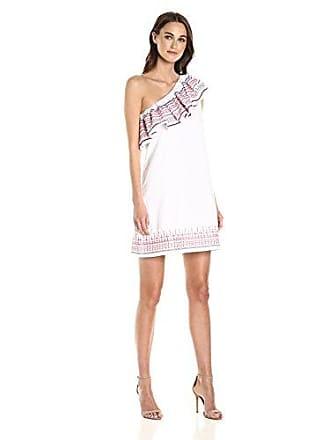 Parker Womens Katrina Dress, White, XS