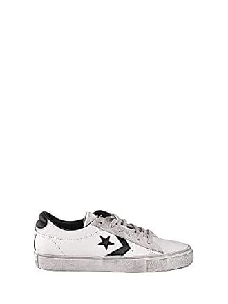 c983d08710 Converse Unisex-Kinder Lifestyle Pro Leather Vulc Distressed Ox Sneakers,  Mehrfarbig (Star White