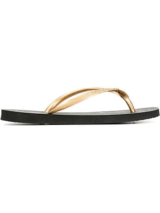 69814828467428 Charlotte Olympia Charlotte Olympia x Havaianas flip flops - Black