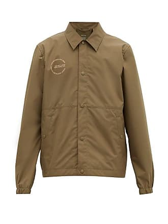 Helmut Lang X Parley For The Oceans Recycled Coach Jacket - Mens - Khaki
