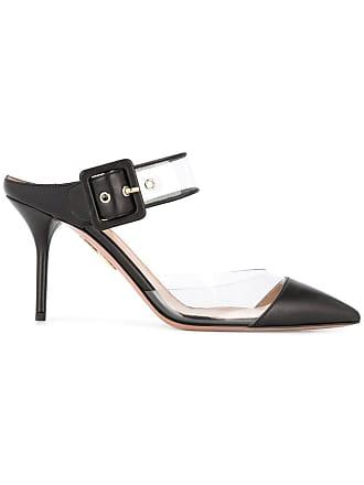 Aquazzura Sapato mule Optic 85 - Preto