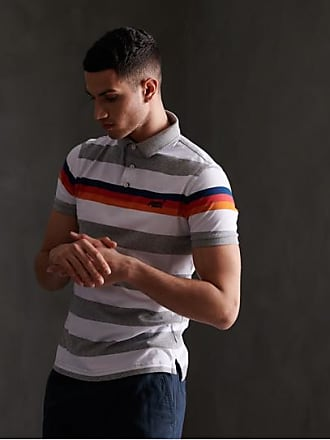 Superdry Organic Cotton Horizon Stripe Polo Shirt
