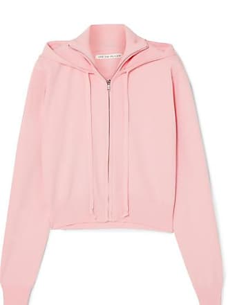 Live The Process Stretch-knit Hoodie - Pink