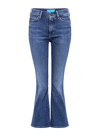 Mih Jeans Marty Cropped Flared Jeans Joa