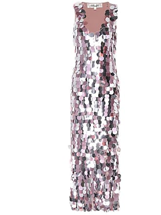 Diane Von Fürstenberg Embellished silk dress
