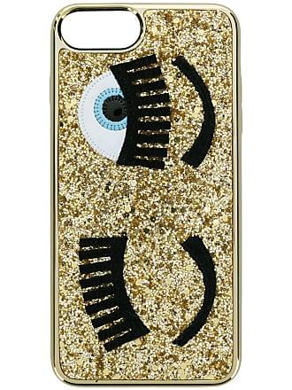 Chiara Ferragni Capa para iPhone 8 com glitter - Metálico