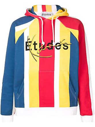Études Studio striped hoodie - Yellow