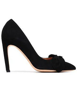 Iro Iro Woman Escaknot Bow-embellished Metallic Cracked-leather Pumps Black Size 41