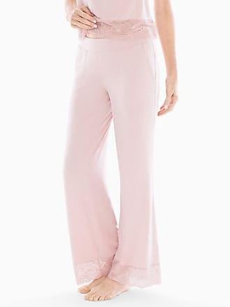 Soma Cool Nights Lace Trim Pajama Pants Vintage Pink, Size XS