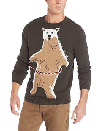 Alex Stevens Mens Polar Bear Hula Hoop, Fatigue, Large