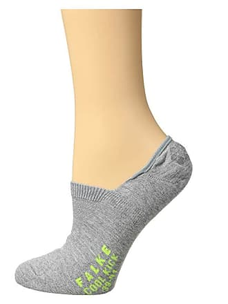 Falke Cool Kick Invisible (Light Grey) Womens Crew Cut Socks Shoes