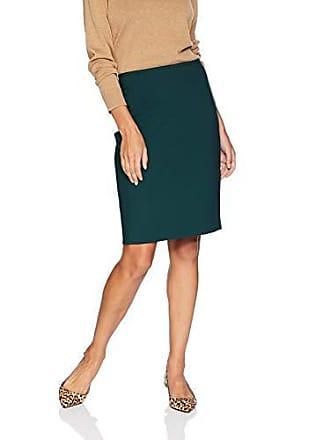 Calvin Klein Womens Lux Straight Skirt, Malachite, 8