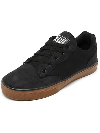 Ride Skateboard Tênis Ride Skateboard Senn Preto