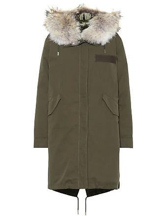 2f50312ec3e2 Yves Salomon - Army Fur-trimmed cotton parka