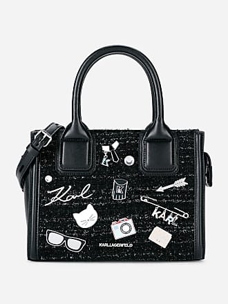 Karl Lagerfeld K/Klassik Pins Mini Tote Bag