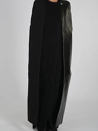 Rick Owens Wool CAPED ROBE Coat size 38