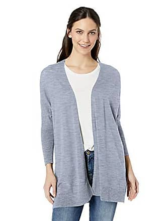 Daily Ritual Womens Lightweight Cocoon Sweater, Periwinkle, Small