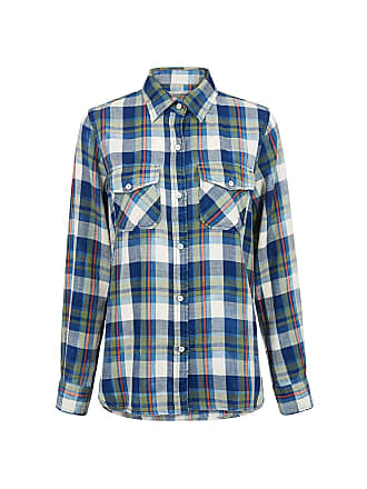 Current Elliott The Perfect Plaid Shirt Dixie Plaid