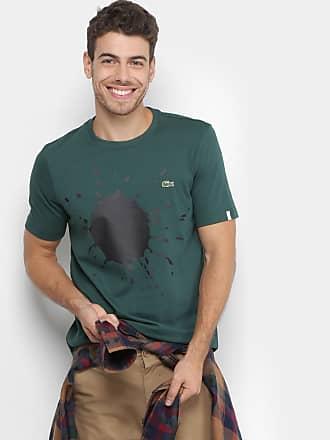 44ae844f3dabd Lacoste L!ve Camiseta Lacoste Live Tinta Masculina - Masculino