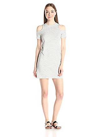 da3b66b884 Minkpink Womens Double Up Cold-Shoulder T-Shirt Dress, Multi, Medium