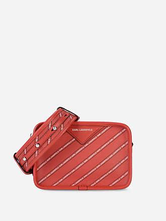Karl Lagerfeld K/Stripe Logo Crossbody Bag