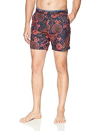 eb68372b2f Scotch & Soda Mens Printed Melange Swim Short with Cut & Sewn Waistband,  Combo dye