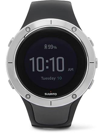 Suunto Spartan Sport Gps Gunmetal-tone And Silicone Watch - Black