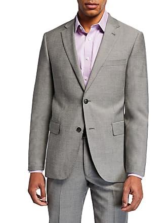 Neiman Marcus Mens Birdseye Two-Piece Suit