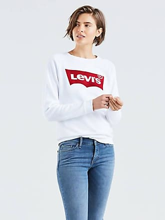 Levi's Relaxed Graphic Crewneck Sweatshirt - Red