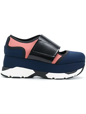 38f91c01d739 Marni Arial platform sneakers - Blue
