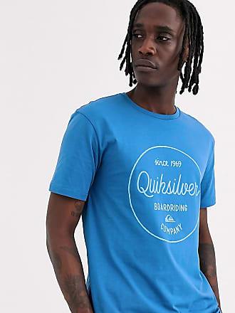 Quiksilver T-shirt blu con grafica