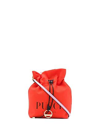 Emilio Pucci Bolsa mini com logo - Laranja