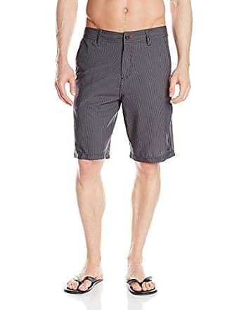 O'Neill Mens 21 Inch Outseam Hybrid Stretch Walk Short, Black/Hadkouken, 28