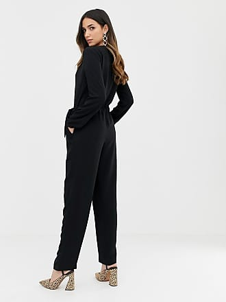 26ad6f936791 Vila Wrap Jumpsuit - Black