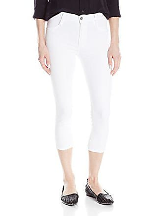 James Jeans Womens High Class Skinny Crop Jean, White Clean, 27