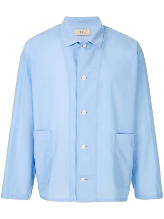 Loveless Camisa cropped - Azul